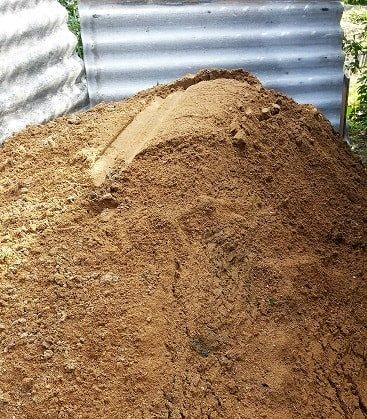 строительный песок для бетонных работ