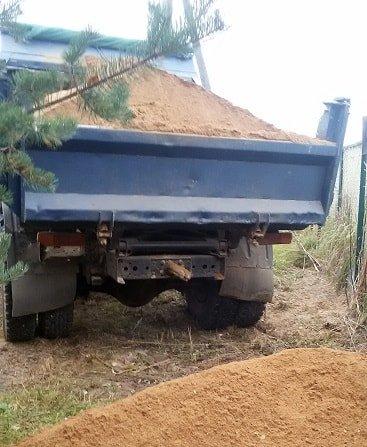 ЗИЛ песка